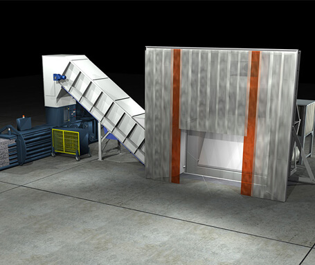 Truck Unloading Containment Systems