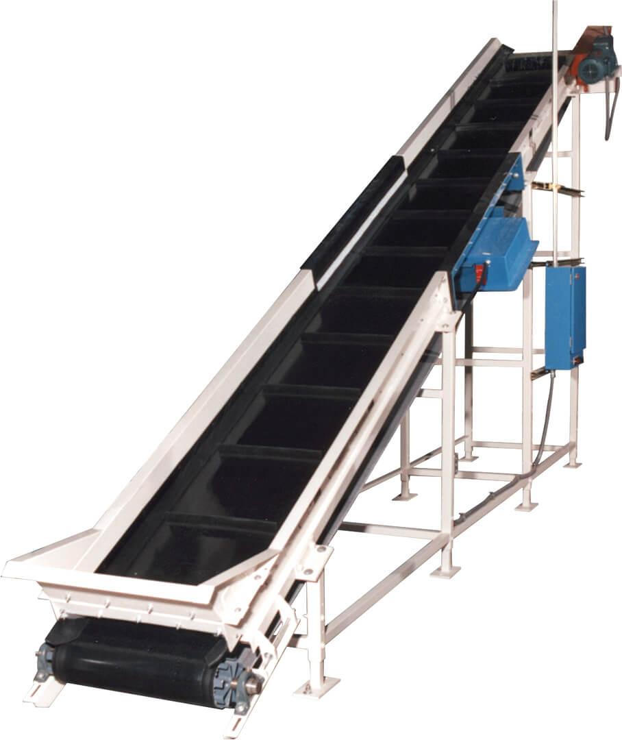 Rmh Granulator Infeed Belt Conveyor Vecoplan