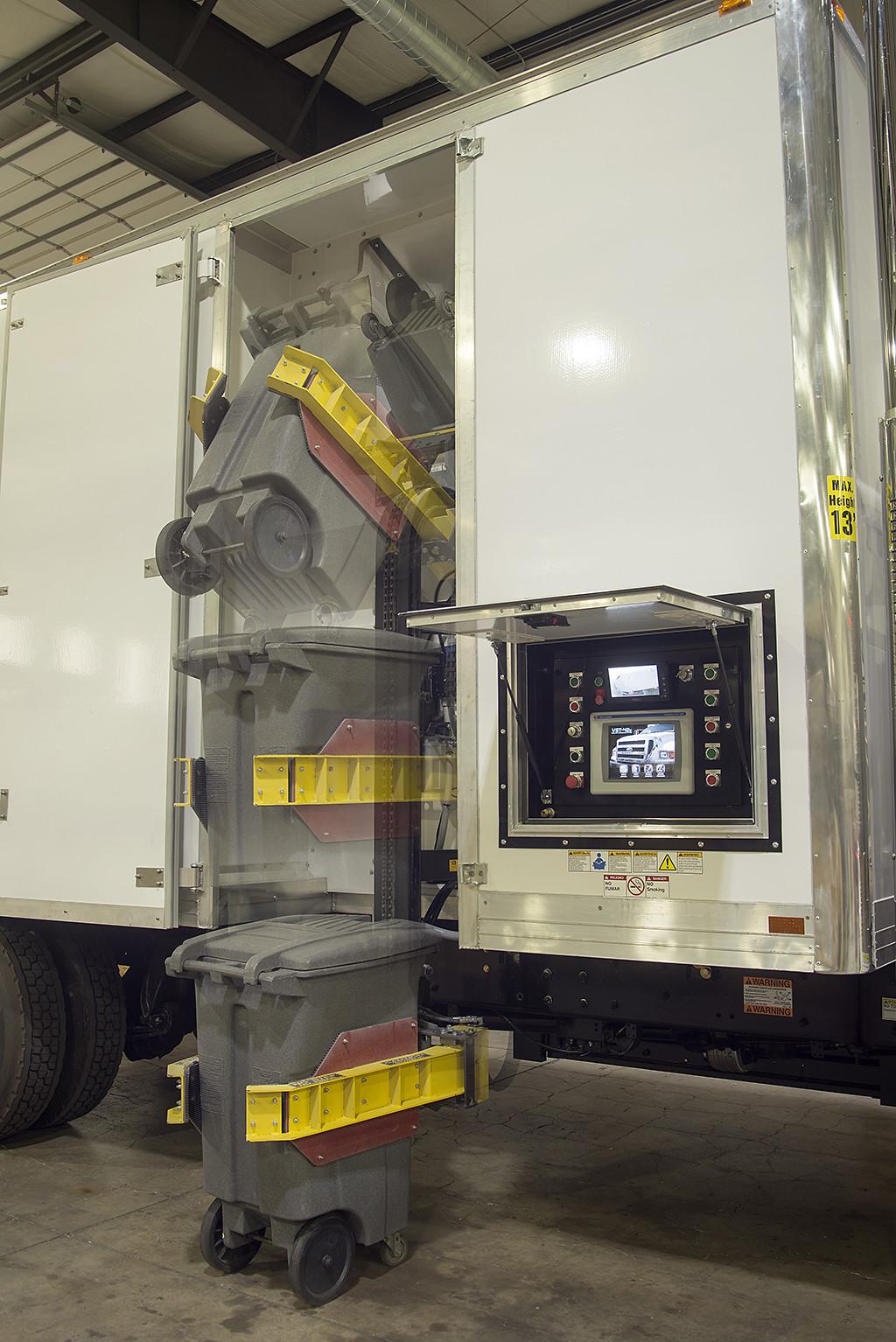 Pre Owned Trucks >> VST42e Shred Truck | Mobile Document Shredding | Vecoplan