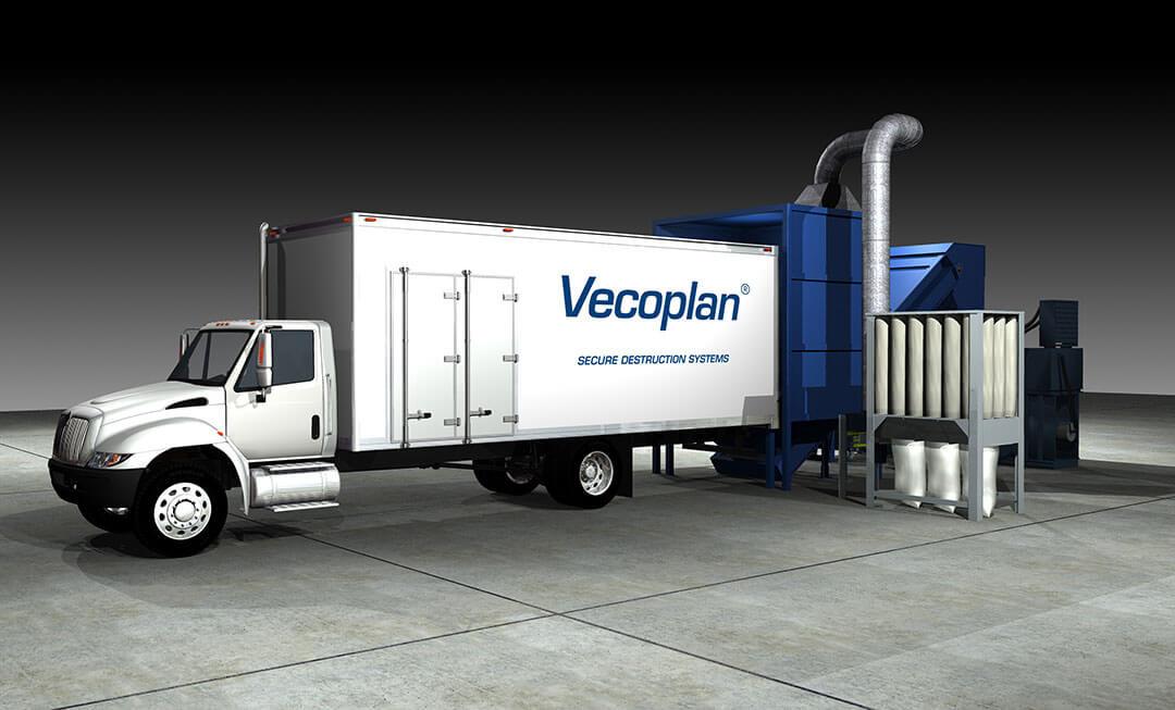 Truck Unloading System Vecoplan