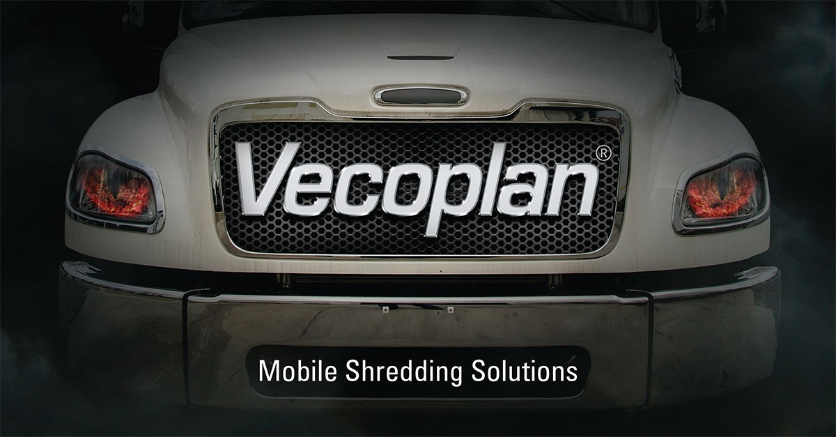 Vecoplan PT24 Mobile CDL & Non CDL Shred Trucks For Secure Paper Shredding