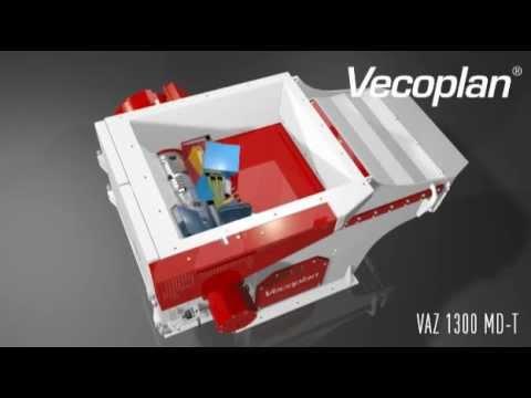 Vecoplan VAZ 1300 Shredding System | Vecoplan
