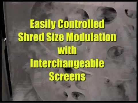 Industrial Paper Shredders | Vecoplan Document Shredders