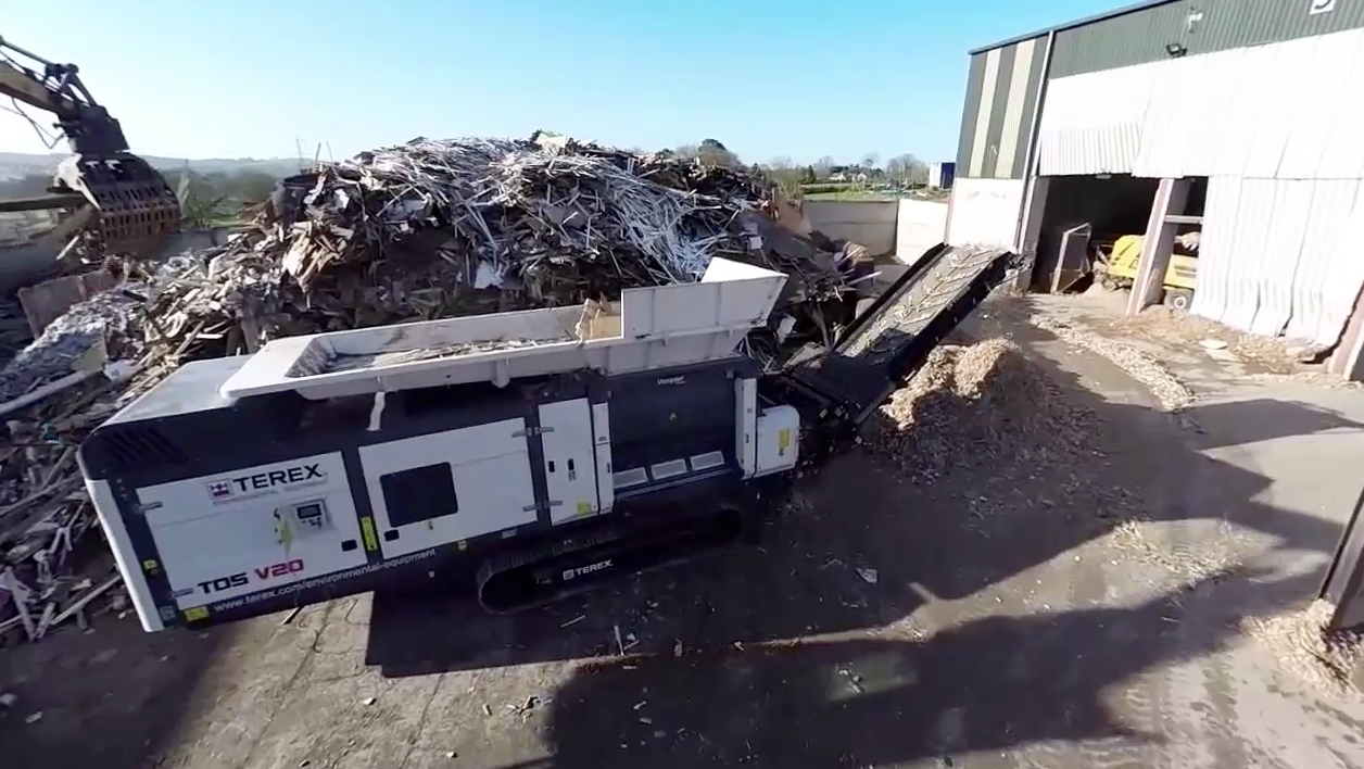 Vecoplan Mobile Industrial Shredding Solutions
