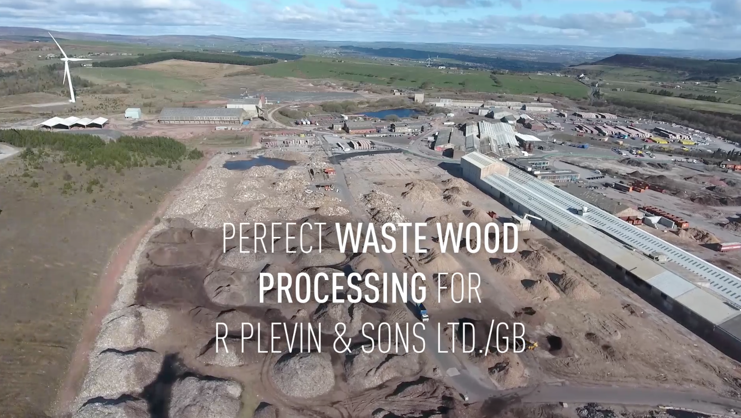 Waste Wood Processing Plant