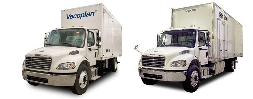 Vecoplan Shred Trucks