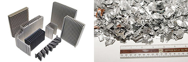 aluminum shredder