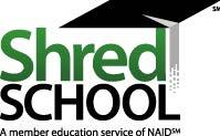 shred school logo